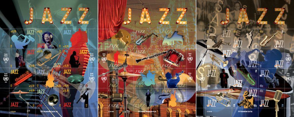 UNPA Jazz Stamps Vienna 2014